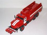 Модели 1 43 пожарных автомобилей