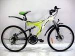 подростковый двухподвесный Велосипед Azimut Blaster  новый