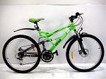 подростковый двухподвесный Велосипед Azimut Rock новый