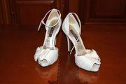 Нарядні білі туфлі р. 37, 5 з США