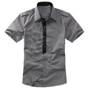 Стильная сорочка на короткий рукав