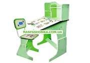 Детская стол-парта 2071 салатовая