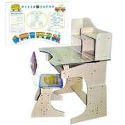 Детская стол-парта 2071 бежевая