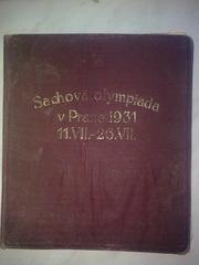 Книга с автографами всех шахматистов 4-ой олимпиады в Праге 1931 г.
