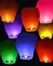 Небесні ліхтарики,  Повітряні китайські ліхтарики,  небесные фонарики