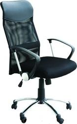 Офисное кресло,  Оливия,  цвет черный,  высокая спинка