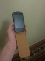 Samsung Galaxy ACE PLUS з флешкою 16 гб,   чохол