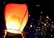 АКЦІЯ! Небесні ліхтарики,  повітряні ліхтарі 15грн./шт. КУПОЛ І СЕРЦЕ