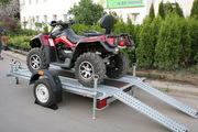 Продам прицеп для перевозки квадроцикла TA-NO 91 A Quadro
