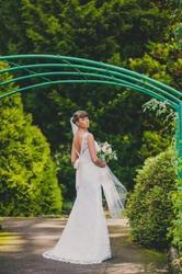 Елегантне весільне плаття