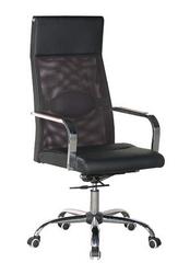 Кресло офисное,  высокая спинка Небраска,  цвет черный
