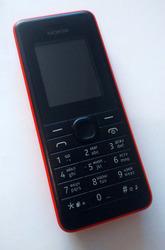 Телефон Nokia 107 Dual SIM Red