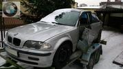 Запчастини бу BMW E46 розборка шрот запчасти