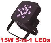 Продам Led Par RGBWA 12pcsХ15W 5in1 LED.Прожектор 12 диодов по 15 ватт