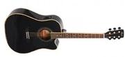 Электроакустическая гитара Cort AF 510E BKS