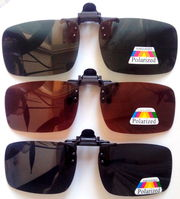 Поляризаційні сонячні накладки на діоптрійні окуляри