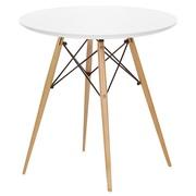 Круглый деревянный стол Тауэр ВУД,  диаметр 80 см
