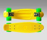 Скейт Penny Board 22 желтый