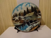 Настенная тарелка. Керамика Германия