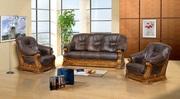 Мариуполь Большой ассортимент кожаных диванов. Доступная цена,  доставк