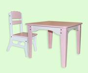 Комплект мебели для детей Фламинго - столик+стульчик