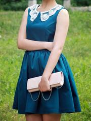 Платье красивейшего синего цвета