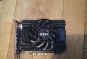 ВІДЕОКАРТА GTX 650 MSI 128 бит GDDR5