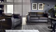 Львов Кожаные диваны с реклайнером. Etap-sofa  Кожаный диван Etap-sofa
