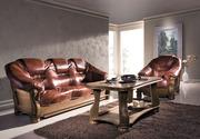 Продам Meble-pyka Кожаный диван в дубовом каркасе из Польши новые. див