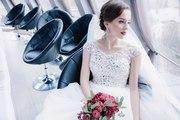 Продам изысканное свадебное платье Розочка