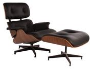 Ужгород Продам Кресло Eames Lounge Chair &  Ottoman черное кожано.