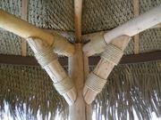 Киев Отделка сруба веревкой декоративной. Джутовый канат для отделки ш