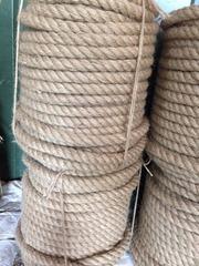 Рівне Льняний канат Льняний мотузок прядивний Прядивний мотузок Мотузо