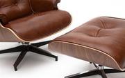 Днепро Кресло eames lounge chair с оттоманкой надежное и комфортное,  о