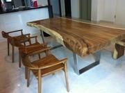 Днепр Эксклюзивные столы из тропических пород древесины: суар,  палисан