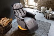 Купити зручне шкіряне кресло-реклайнер relax  Харків Кресло-реклайнер