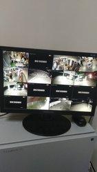 Установка домофонов,  замков,  сигнализации и видеонаблюдения