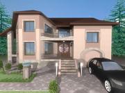 Дизайн фасаду львів KV-Design