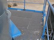 Промислова підлога на основі епоксидних решіток армованих скловолокном